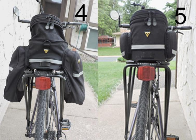 The Bicycle Topeak Rx Trunk Dxp With Panniers 47 S H Rack Not Included